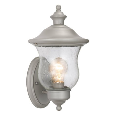 Highland by Design House Heritage Silver Outdoor Uplight