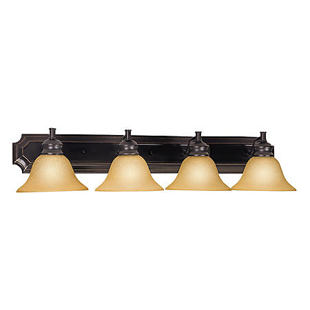 Design House 4-Light Vanity Light Bristol Collection Oil Rubbed Bronze