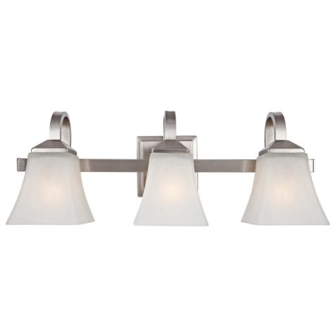 Design House 3-Light Vanity Light Torino Collection - Satin Nickel