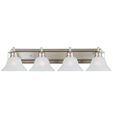 Design House 4-Light Vanity Light Bristol Collection - Satin Nickel