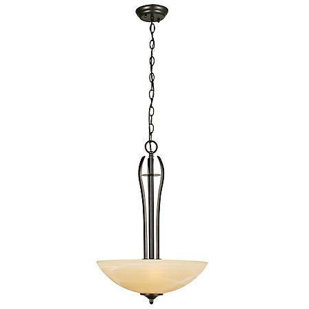 Design House 3-Light Pendant Trevie Collection - Oil Rubbed Bronze