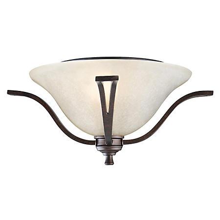 Ironwood by Design House Ceiling Mount - Brushed Bronze