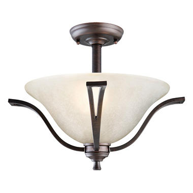 Ironwood by Design House Ceiling Mount - Brushed Bronze
