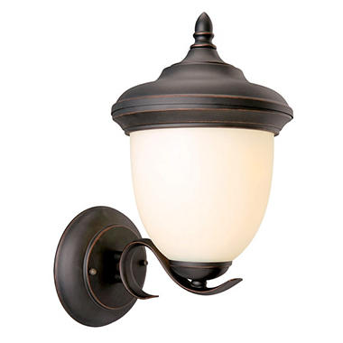 Trevie by Design House Oil Rubbed Bronze Outdoor Uplight