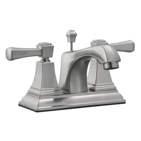 Torino by Design House Bathroom Sink Faucet - Satin Nickel
