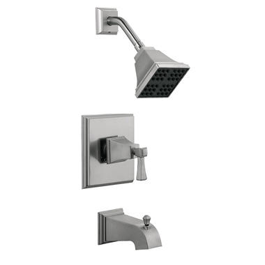 Torino by Design House Tub & Shower Faucet - Satin Nickel