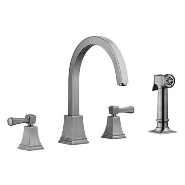 Torino by Design House Kitchen Faucet - Satin Nickel