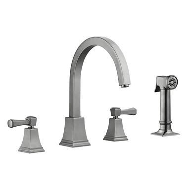 Torino By Design House Kitchen Faucet   Satin Nickel