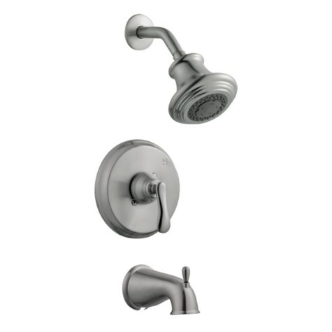 Madison by Design House Satin Nickel Tub & Shower Faucet