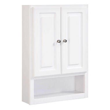 Design House Concord White Gloss Wall Bathroom Cabinet