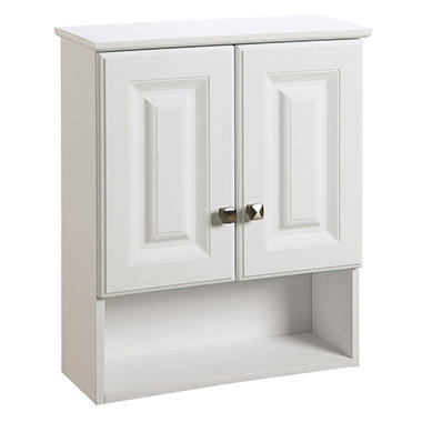 Design House Wyndham White Semi-Gloss Bathroom Wall Cabinet