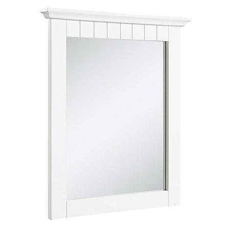 Design House Cottage Mirror - White