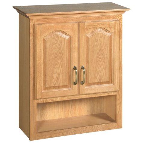 Design House Richland Nutmeg Oak Bathroom Wall Cabinet