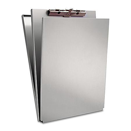 Saunders Aluminum Top-Opening Storage Clipboard