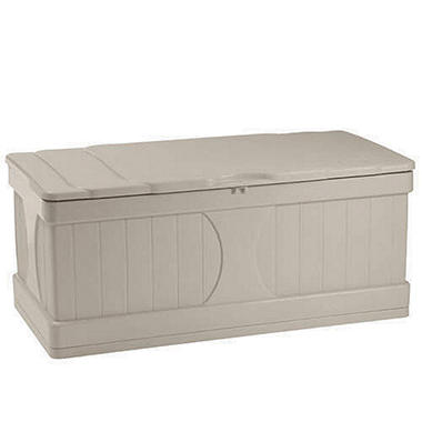 Lovely Suncast® Outdoor Deck Storage Box   99 Gal.