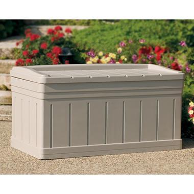 Suncast Deck Box w/Seat - 129 gallon  sc 1 st  Samu0027s Club & Suncast Deck Box w/Seat - 129 gallon - Samu0027s Club