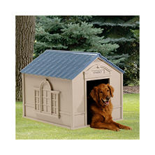 Suncast Deluxe Dog House - Large