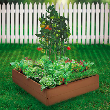 Suncast Raised Garden Kit - 8 Panel