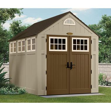 Garden Sheds 7 X 10 suncast 7' x 10' alpine shed - sam's club