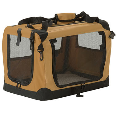 Suncast Fold Away Pet Carrier - Various Sizes