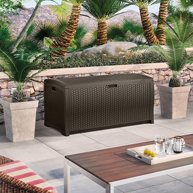 Top Rated Suncast Wicker 99 Gallon Deck Box
