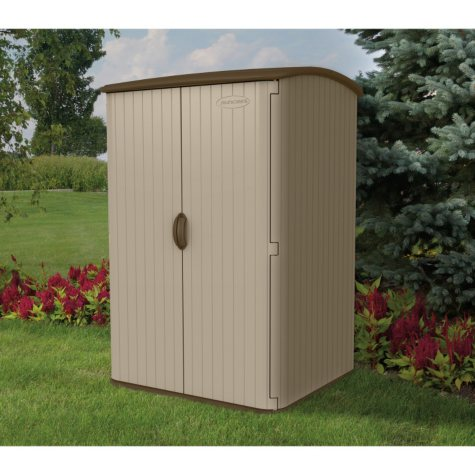 Suncast 6.5' H x 4' W Vertical Extra Large Resin Shed