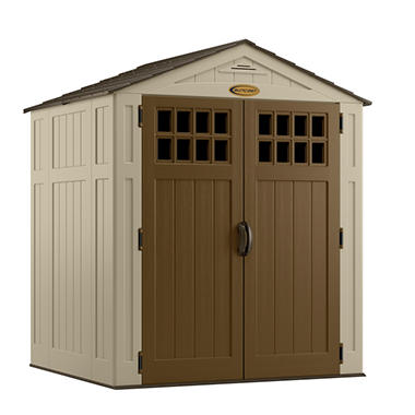 Suncast 6u0027 X 5u0027 Resin Shed