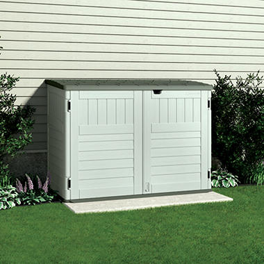 Suncast Trash Can Shed   70 Cu. Ft.