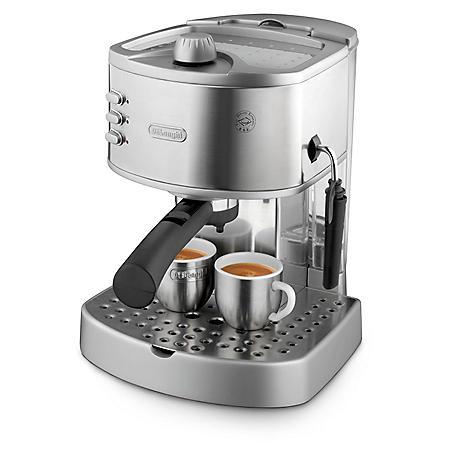 DeLonghi EC330 15-Bar Pump Espresso Machine with Manual Frother