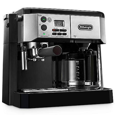 De'Longhi Combination Espresso and Coffee Machine with Advanced Cappuccino System