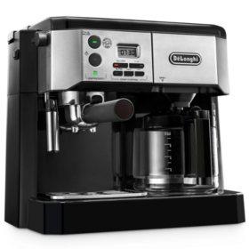 De'Longhi Combination Espresso and Coffee Machine with Advanced Cappuccino System