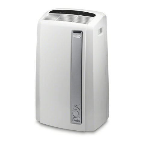 DeLonghi PACAN270G1W 500 Sq. ft. Portable Air Conditioner