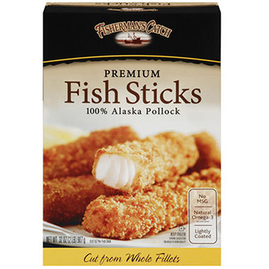 Fisherman's Catch Premium Fish Sticks - 32 oz.