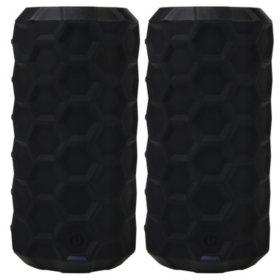 808 Canz H2O Bluetooth Wireless Speaker (2-pk.)
