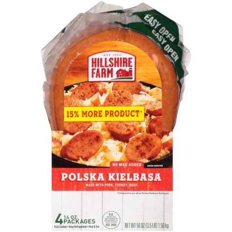 Hillshire Farm Polska Kielbasa (14 oz. pkg., 4 ct.)