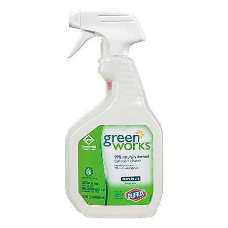 Green Works Bathroom Cleaner Spray (24 oz.)
