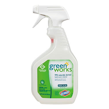 Bathroom Cleaner green works bathroom cleaner spray (24 oz.) - sam's club