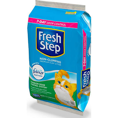 Fresh Step? Scoopable Cat Litter - 40 lbs.