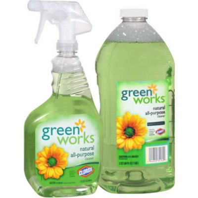 Green Works All Purpose Cleaner 32oz 64oz Refill Sams Club