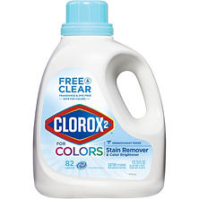 Clorox 2 Laundry Stain Remover and Color Booster, Free and Clear (112.75 oz.)