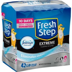 Fresh Step Extreme with Febreze Clumping Cat Litter (42 lbs.)