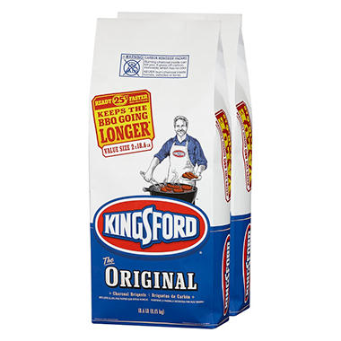 Kingsford Original Charcoal Briquets (18.6 lb bags, 2 ct.)