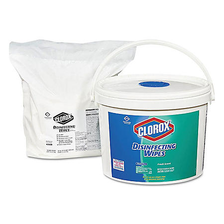 Clorox Disinfecting Wipes, Fresh Scent (700ct. Bucket)