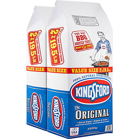Kingsford Original Charcoal Briquets (19.5 lb. bag, 2 ct.)