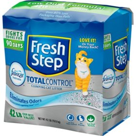 Fresh Step Total Control with Febreze Clumping Cat Litter (42 lbs.)