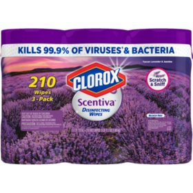 Clorox Scentiva Disinfecting Wipes, (various scents)