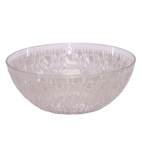 Crystalike Small Crystal-Cut Clear Bowl (1qt., 36 pieces)