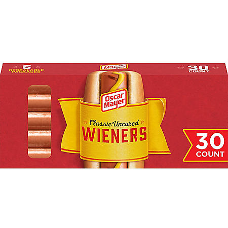 Oscar Mayer Uncured Classic Wieners (48 oz. box, 30 ct.)