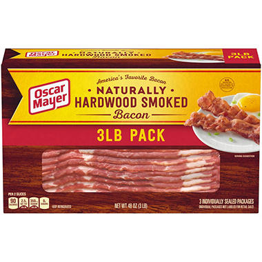 Oscar Mayer Bacon (1 lb. pkg., 3 ct.)