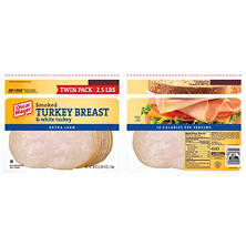 Oscar Mayer Smoked Turkey Breast (20 oz. pack, 2 ct.)